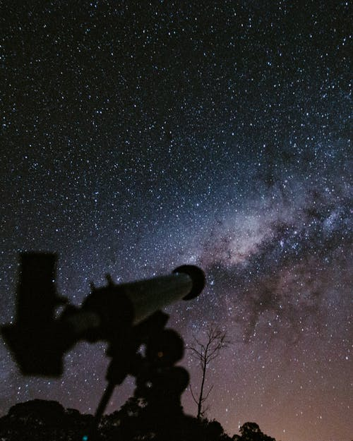 Бесплатное стоковое фото с Астрономия, вечер, живописный, звездная ночь