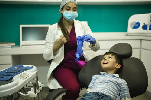 Foto d'estoc gratuïta de centre dental bogota, dentista, infant, nen