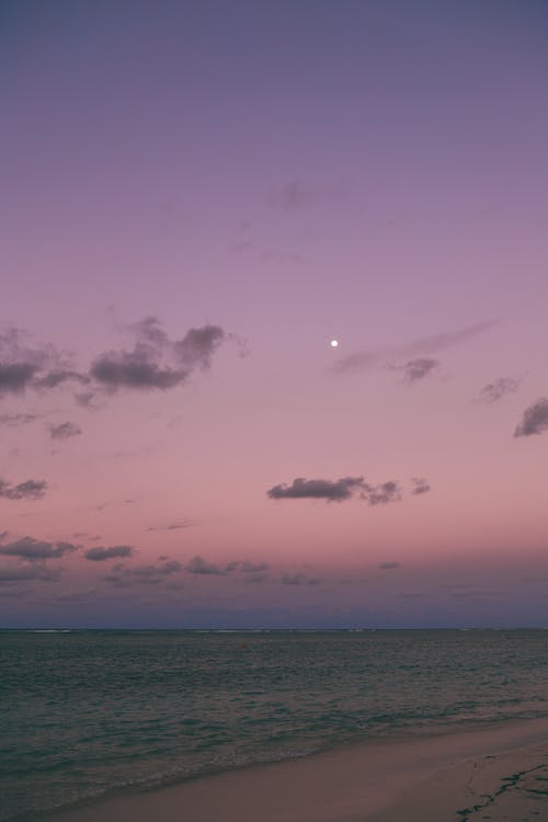 Free stock photo of caribe, noite, por do sol, praia