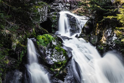 天性, 山, 岩石, 急流 的 免费素材照片