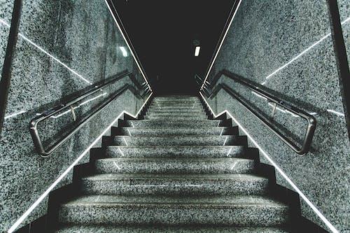 グレー, 夜, 広い, 抽象の無料の写真素材