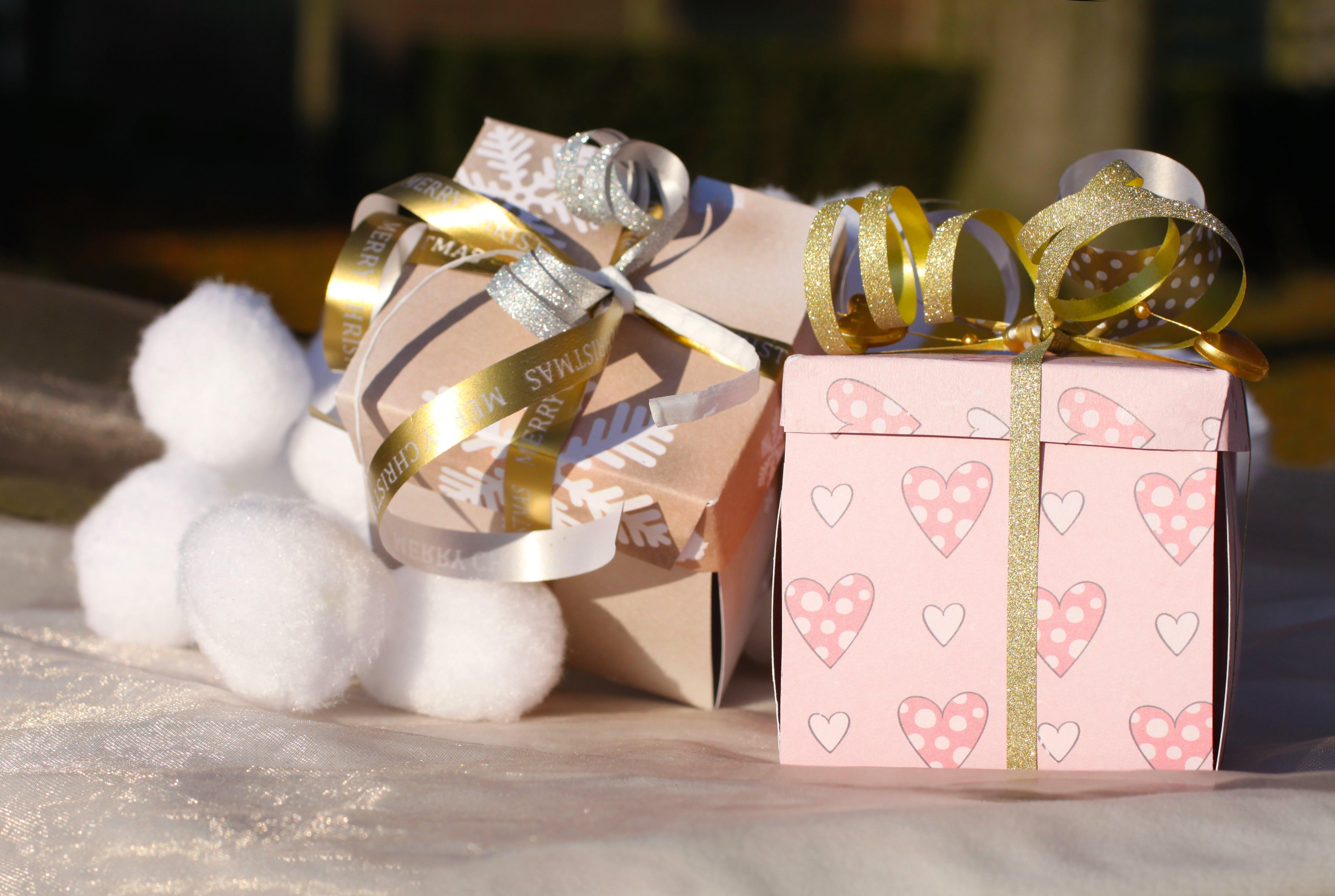 Free stock photo of birthday, box, christmas, decorative