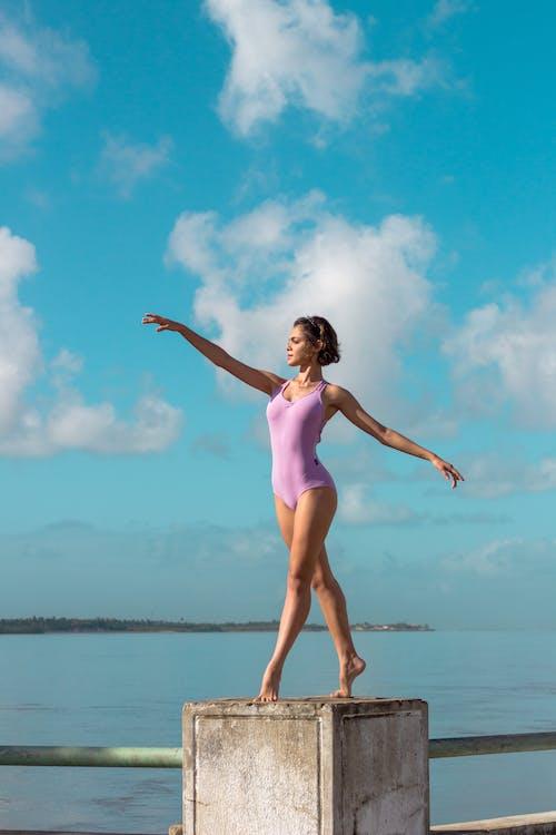 Foto stok gratis balerina, kaum wanita, orang, pose