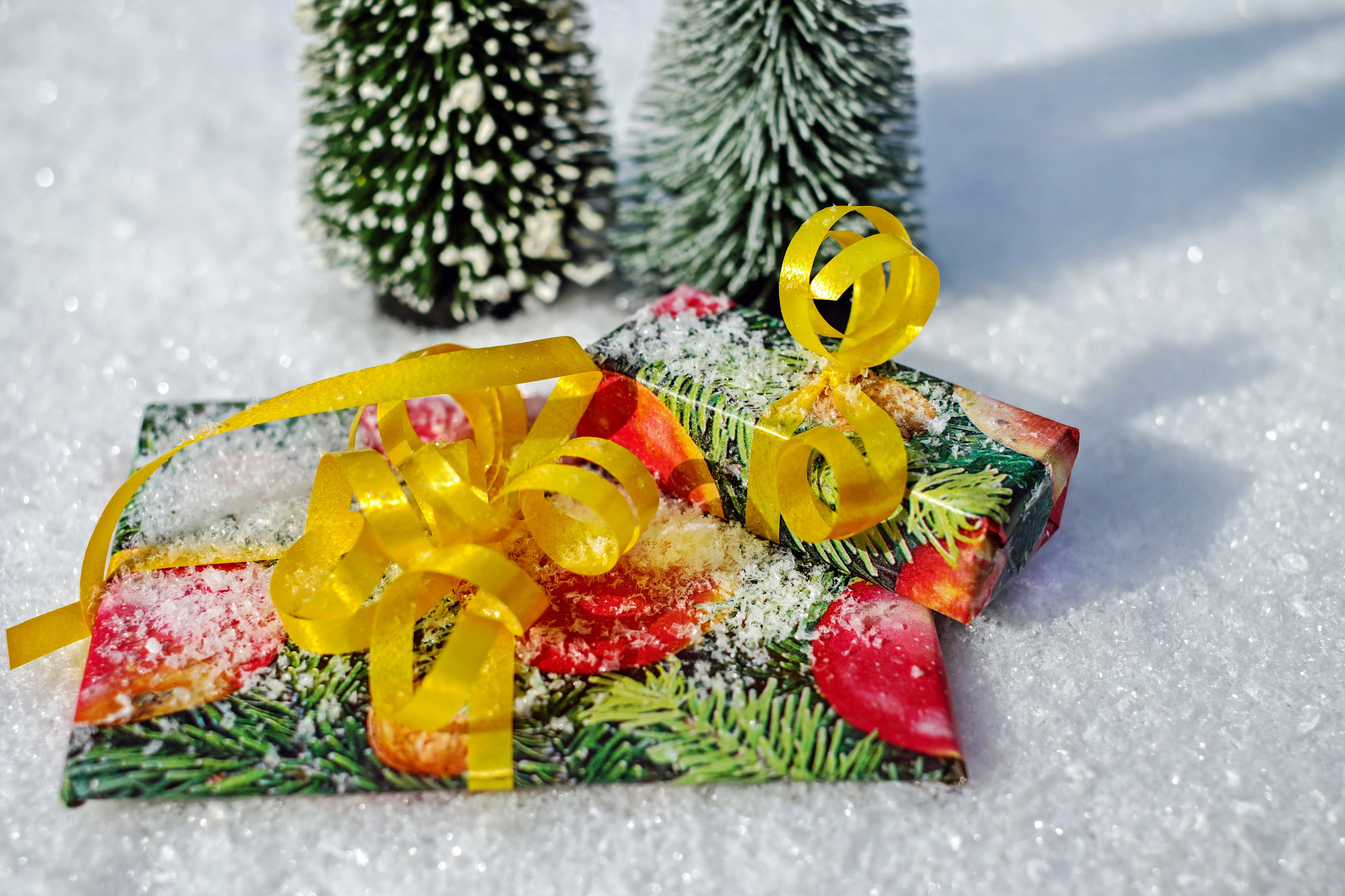 Free stock photo of gift, color, christmas, package