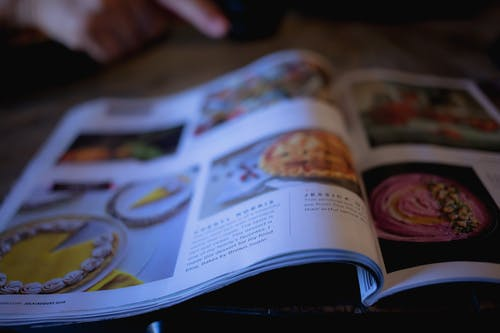 Δωρεάν στοκ φωτογραφιών με περίεργος, περιοδικά, συνταγές