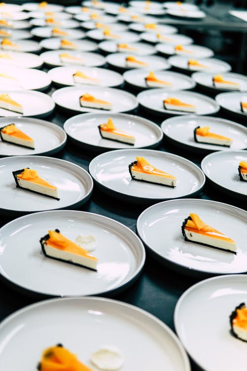 Photo of Cakes on Plates