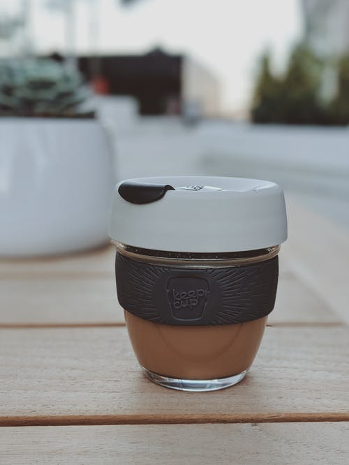 Gratis lagerfoto af bord, cappuccino, close-up, container