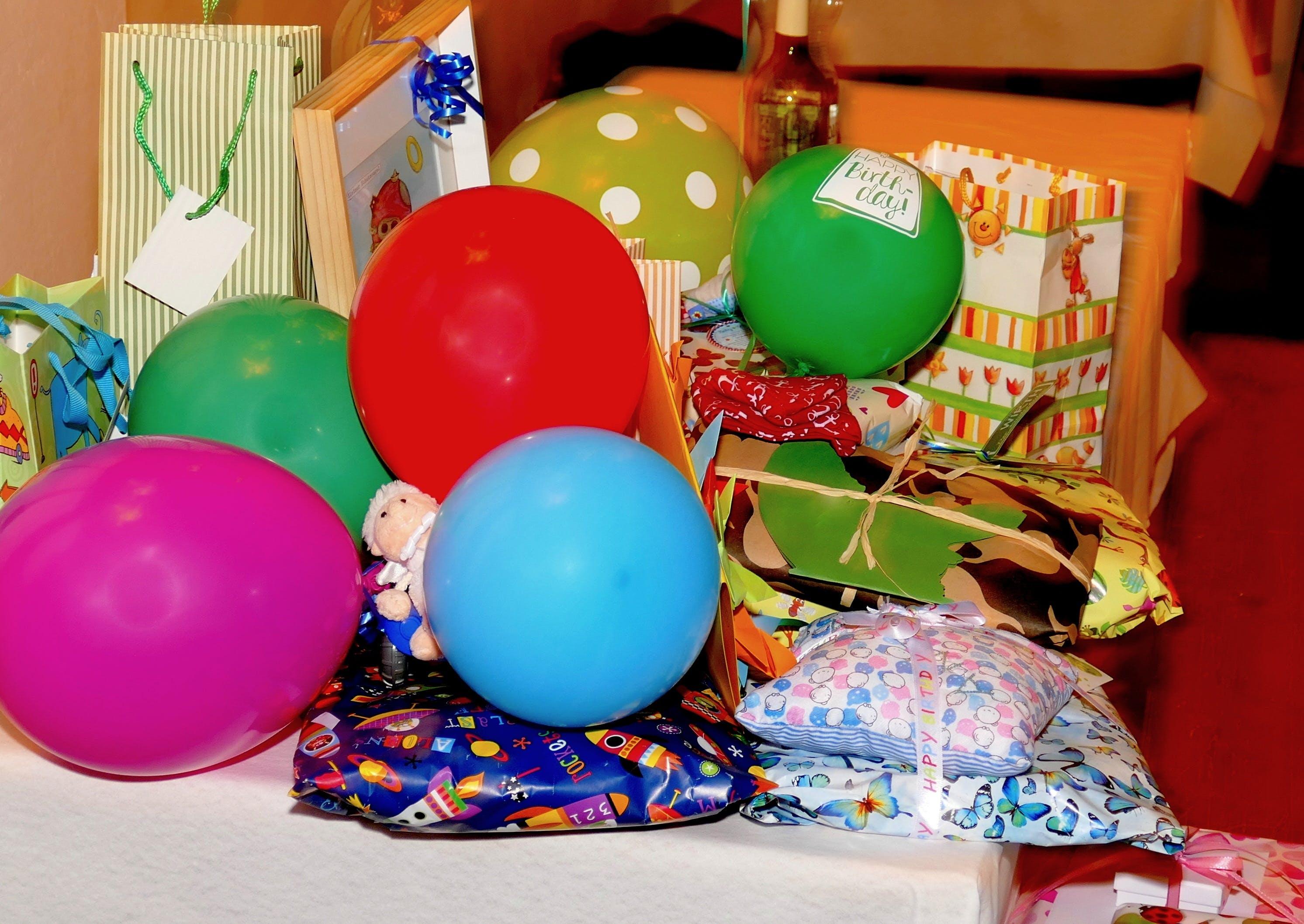 Free stock photo of balloon, birthday, bright, colorful