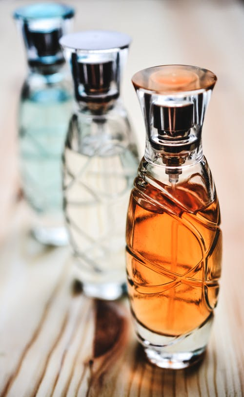 Three Perfume Bottles