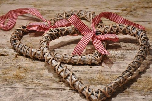 Kostnadsfri bild av dekorativ, handgjort, hjärtan, närbild