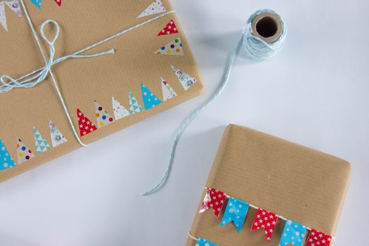 Free stock photo of gift, paper, box, decorating