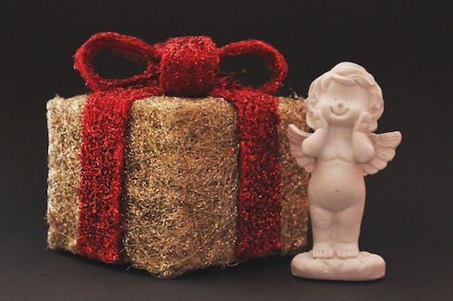 Ingyenes stockfotó angyal, Arany, csomagolás, fogalmi témában