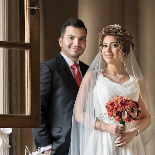 Základová fotografie zdarma na téma svatba, svatební den, svatební šaty, umělecké fotografie