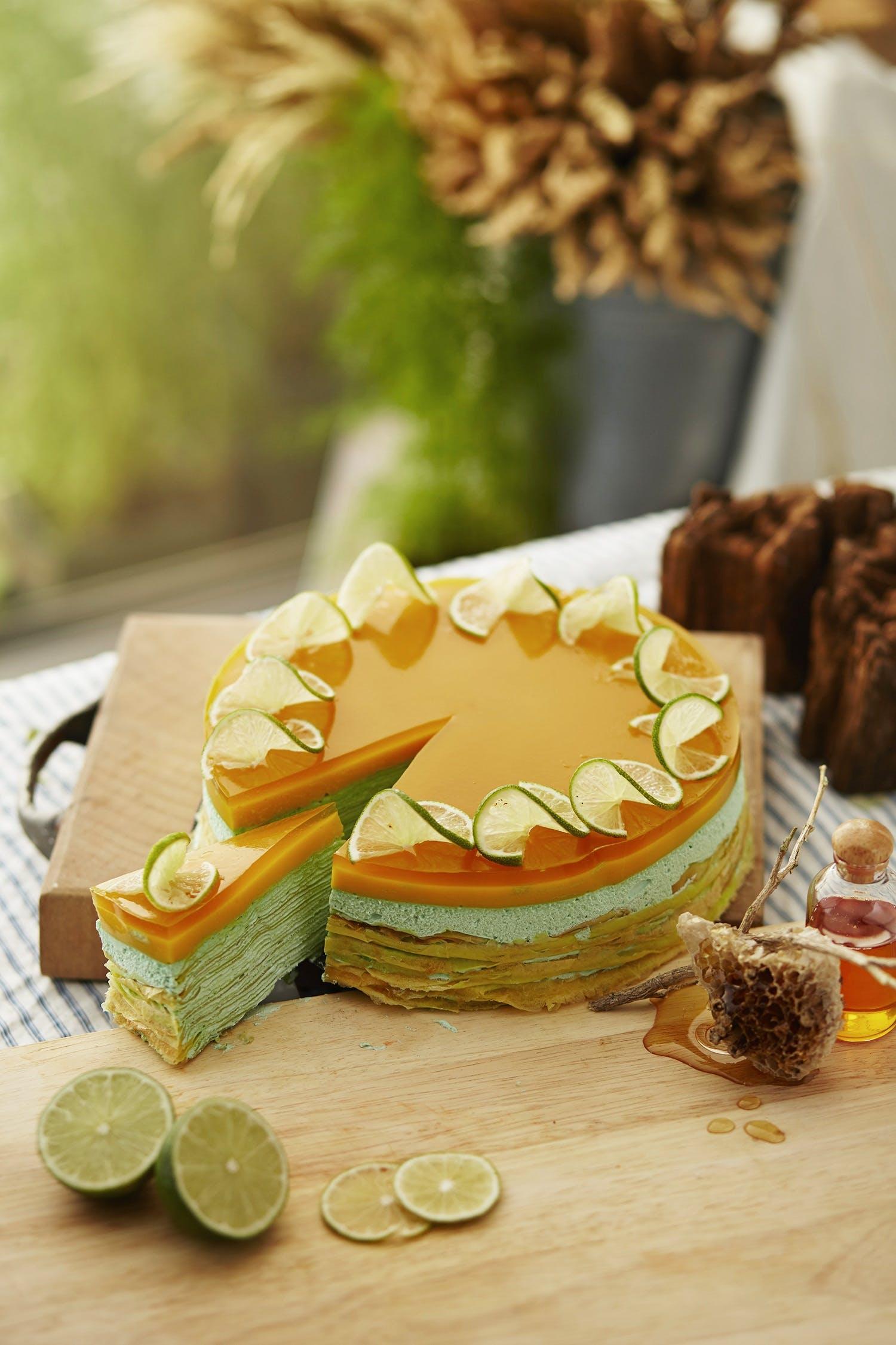 cake, chocolate, cream