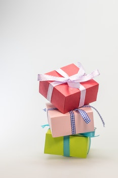 Free stock photo of colorful, present, sweet, color