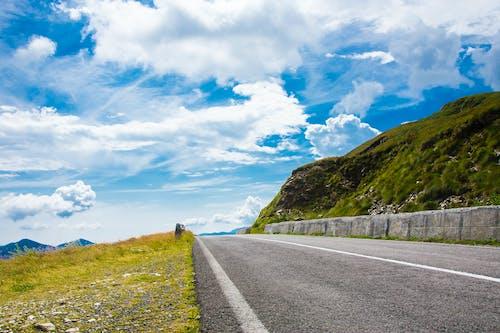 Free stock photo of alpine, clouds, grass, gravel