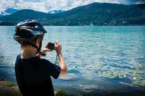 Free stock photo of alpine, austria, blue, camera