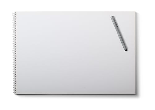 White Drawing Pad