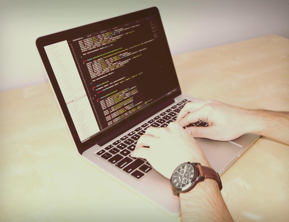 arbejde, arbejder, bærbar computer