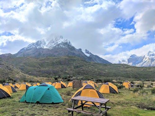山, 巴塔哥尼亚, 帳篷, 智利 的 免费素材照片