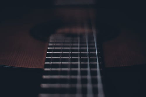Gratis arkivbilde med bånd, bass, blå, fokus