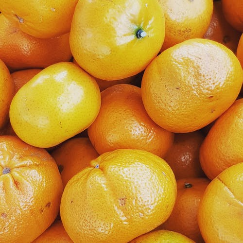 Close-Up Photo of Tangerines