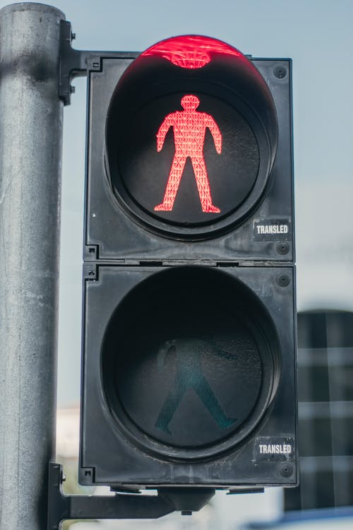 Close-Up Photo of Traffic Light