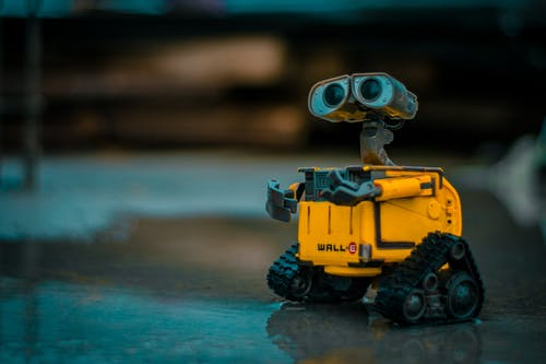 Free stock photo of 50mm, sunset, toy, walle