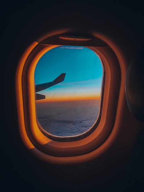 Foto Da Janela Do Avião