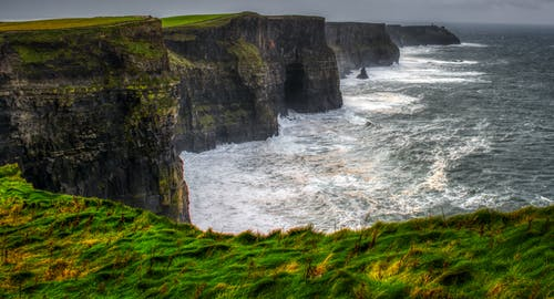 アイルランド, 崖, 水, 海洋の無料の写真素材