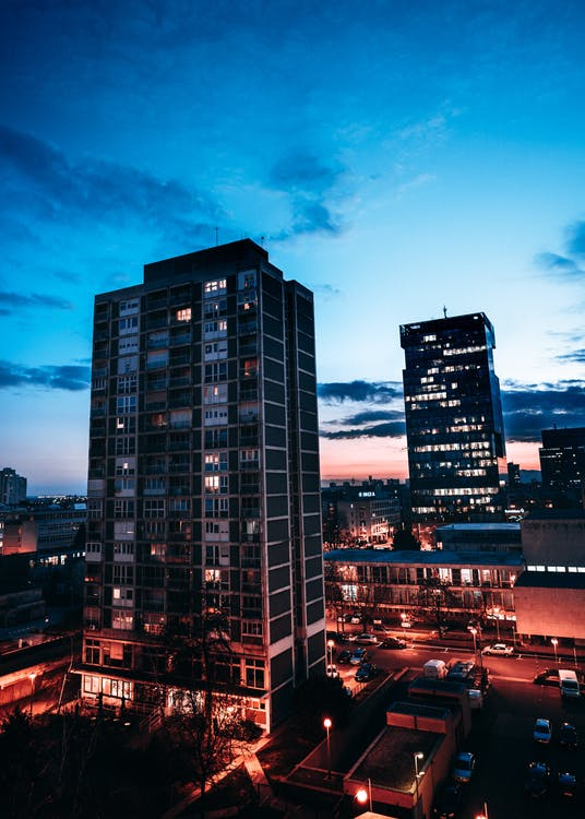 alba, architettura, business