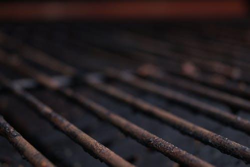 Foto profissional grátis de churrasqueira, ferrugem, grade