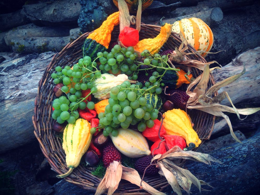 Fruit Lot on Basket