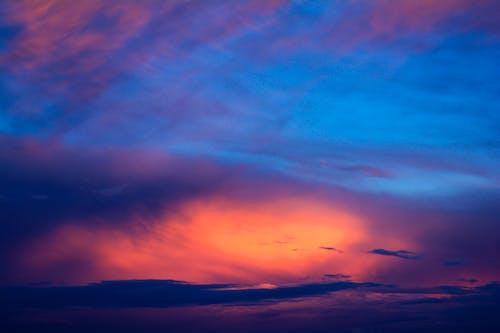 明るい空, 空, 雲の向こうの太陽の無料の写真素材