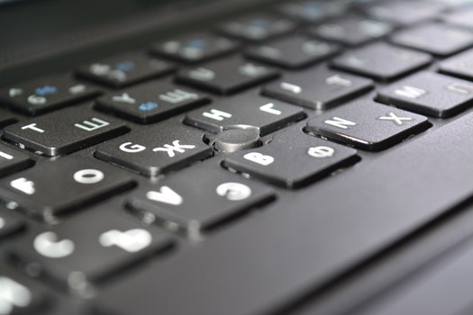 Free stock photo of laptop, notebook, typing, computer
