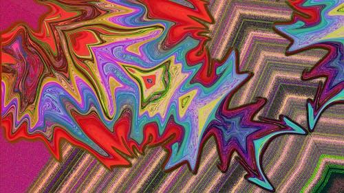 Darmowe zdjęcie z galerii z abstrakcyjny, ilustracja, kolor, tapeta 4k