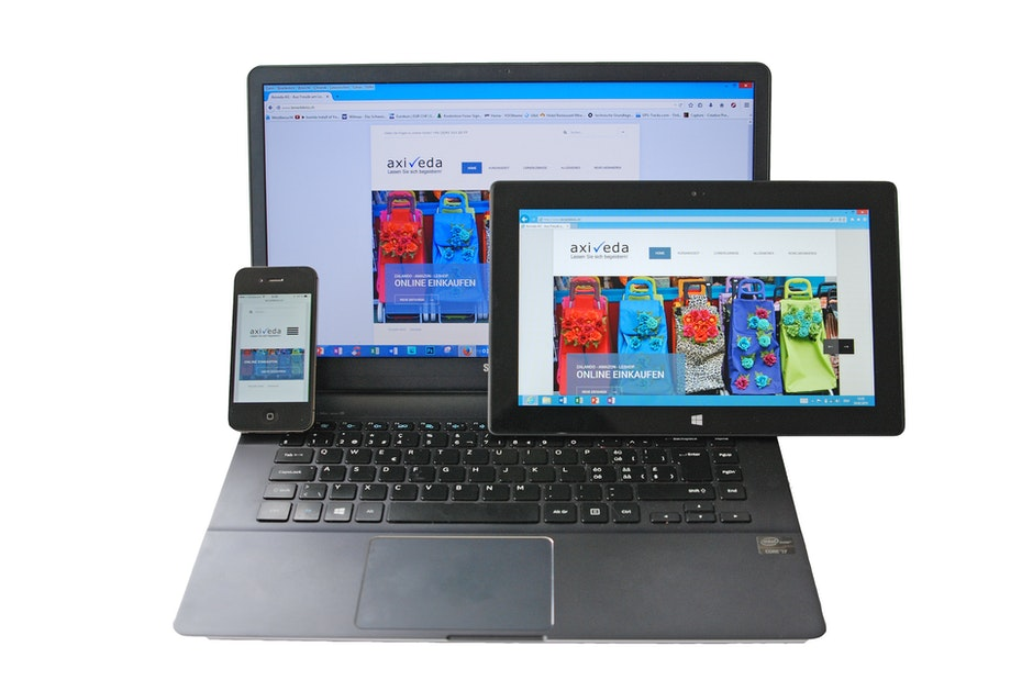 computer, ipad, iphone