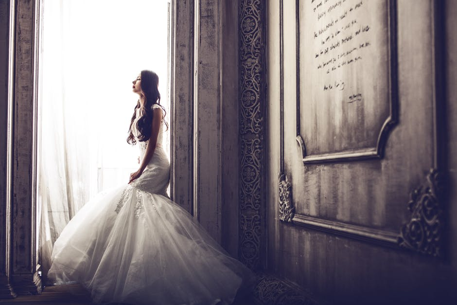 adult, bride, classic