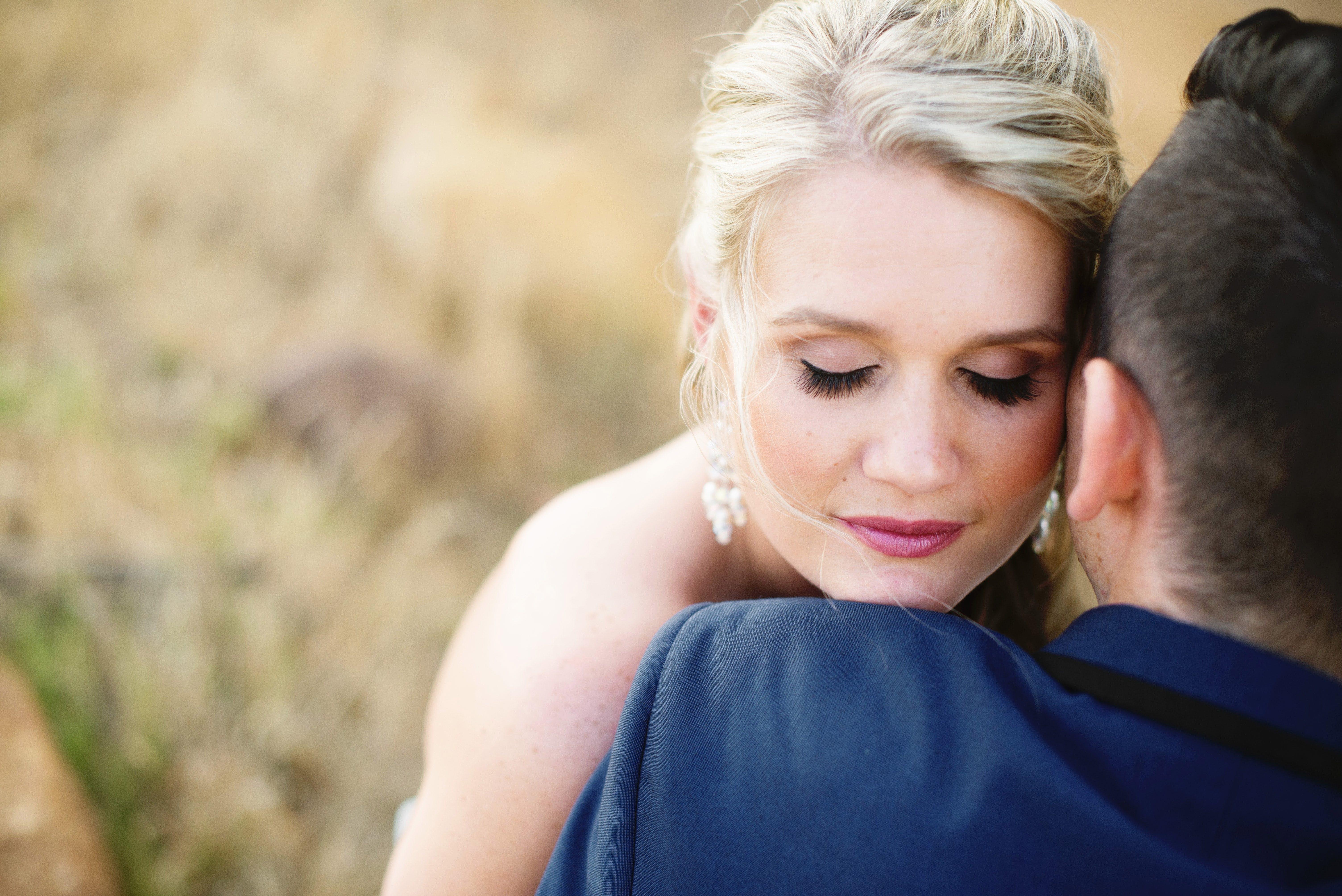 Free stock photo of face, wedding, lashes, wedding make-up