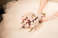 love, woman, flowers