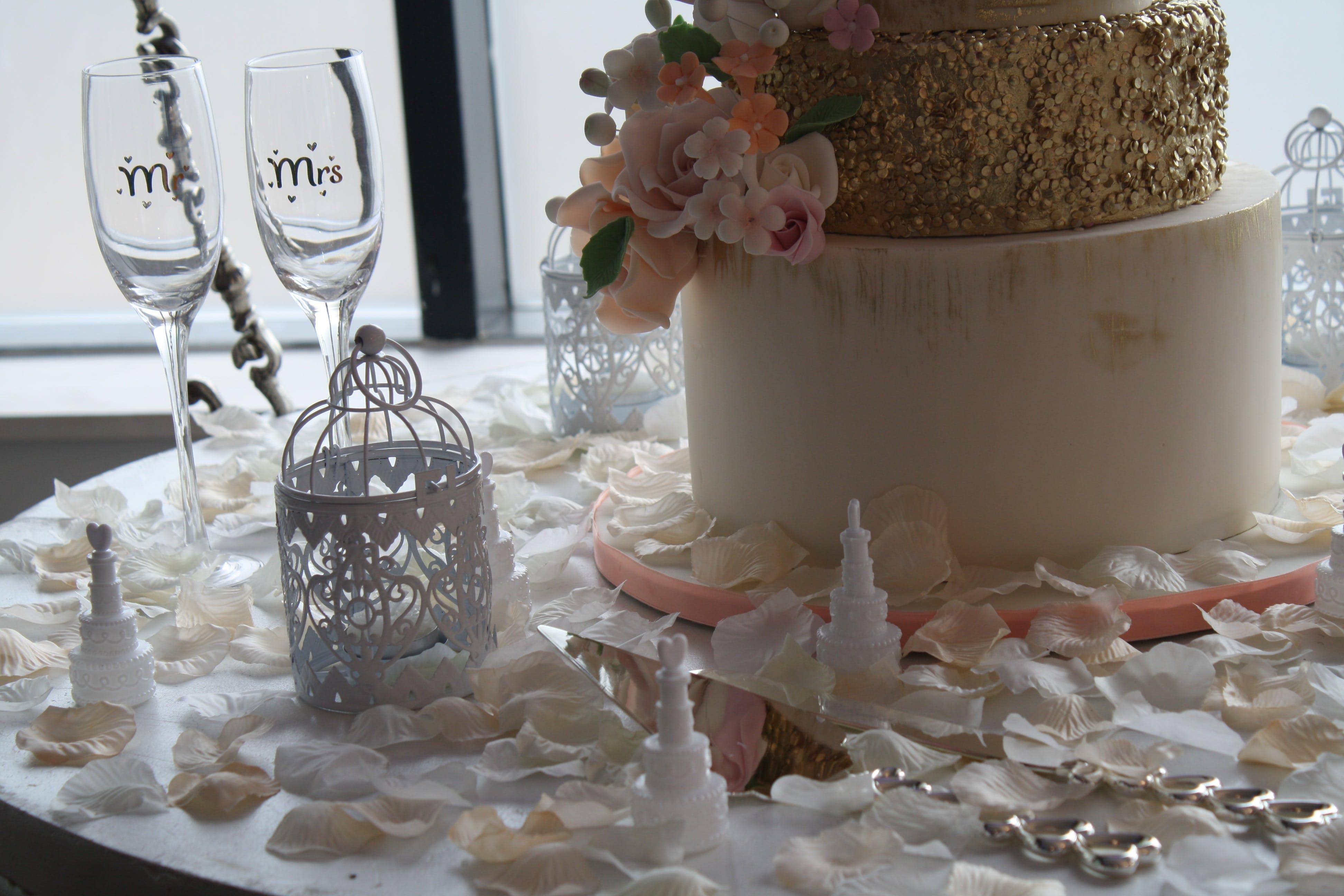 Free stock photo of celebration, marriage, wedding, Wedding Cake
