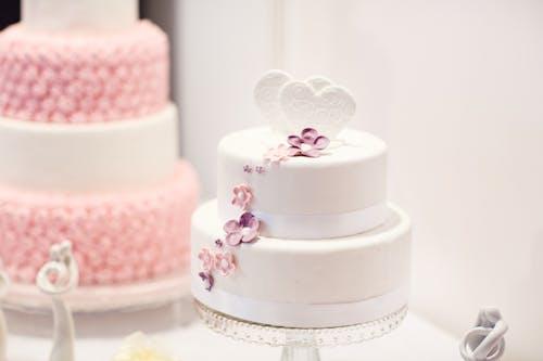 Gratis stockfoto met bakkerij, Bruidstaart, bruiloft, cakes