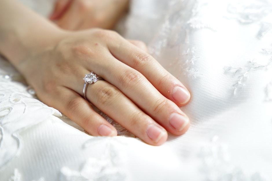 bride, clean, finger
