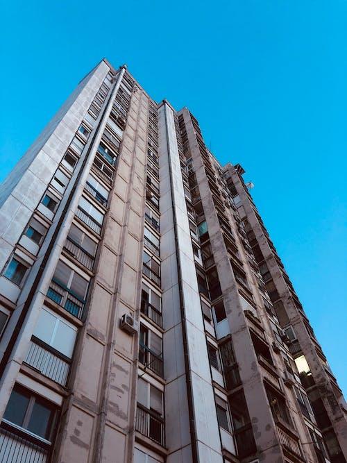 Free stock photo of building, minimal, sky