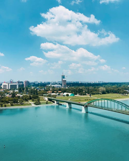 Ingyenes stockfotó belgrád, ég, folyó, nyár témában