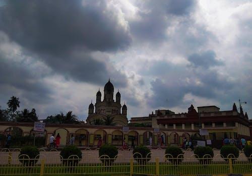 Fotobanka sbezplatnými fotkami na tému chrám, dakhineswar, kalkata, mrak