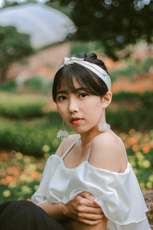 Бесплатное стоковое фото с азиат, азиатка, Азиатская девушка, выражение лица