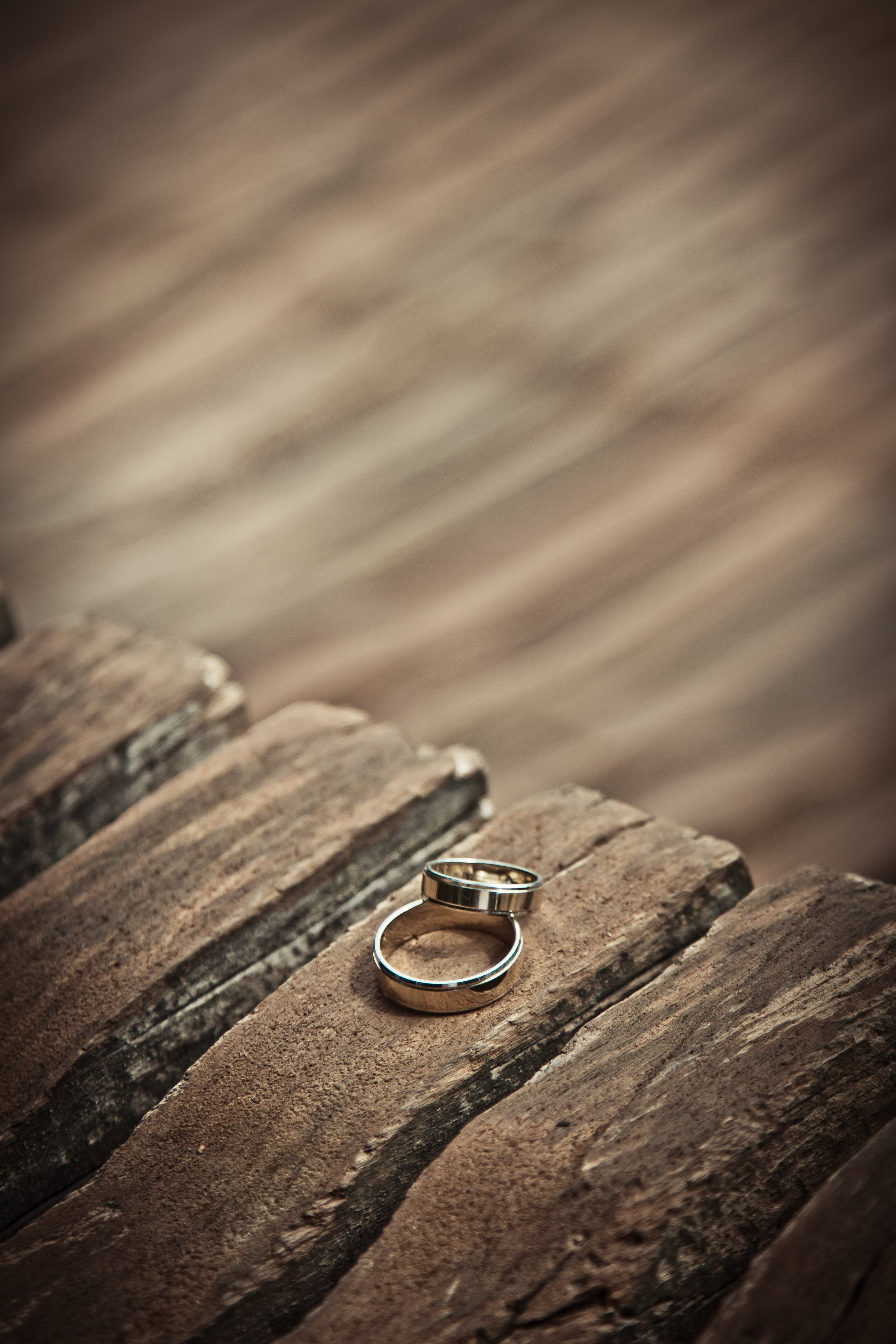 Free stock photo of wood, love, dark, rings