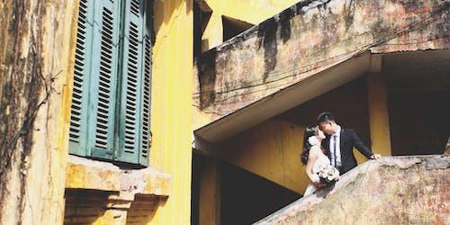 Imagine de stoc gratuită din clădire, cuplu, dragoste, femeie