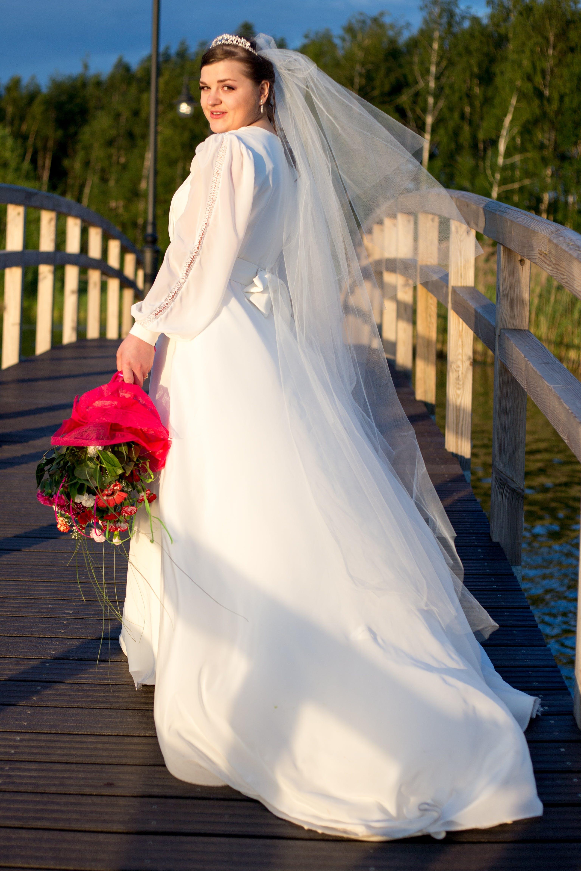 Free stock photo of bridge, white, marriage, wedding